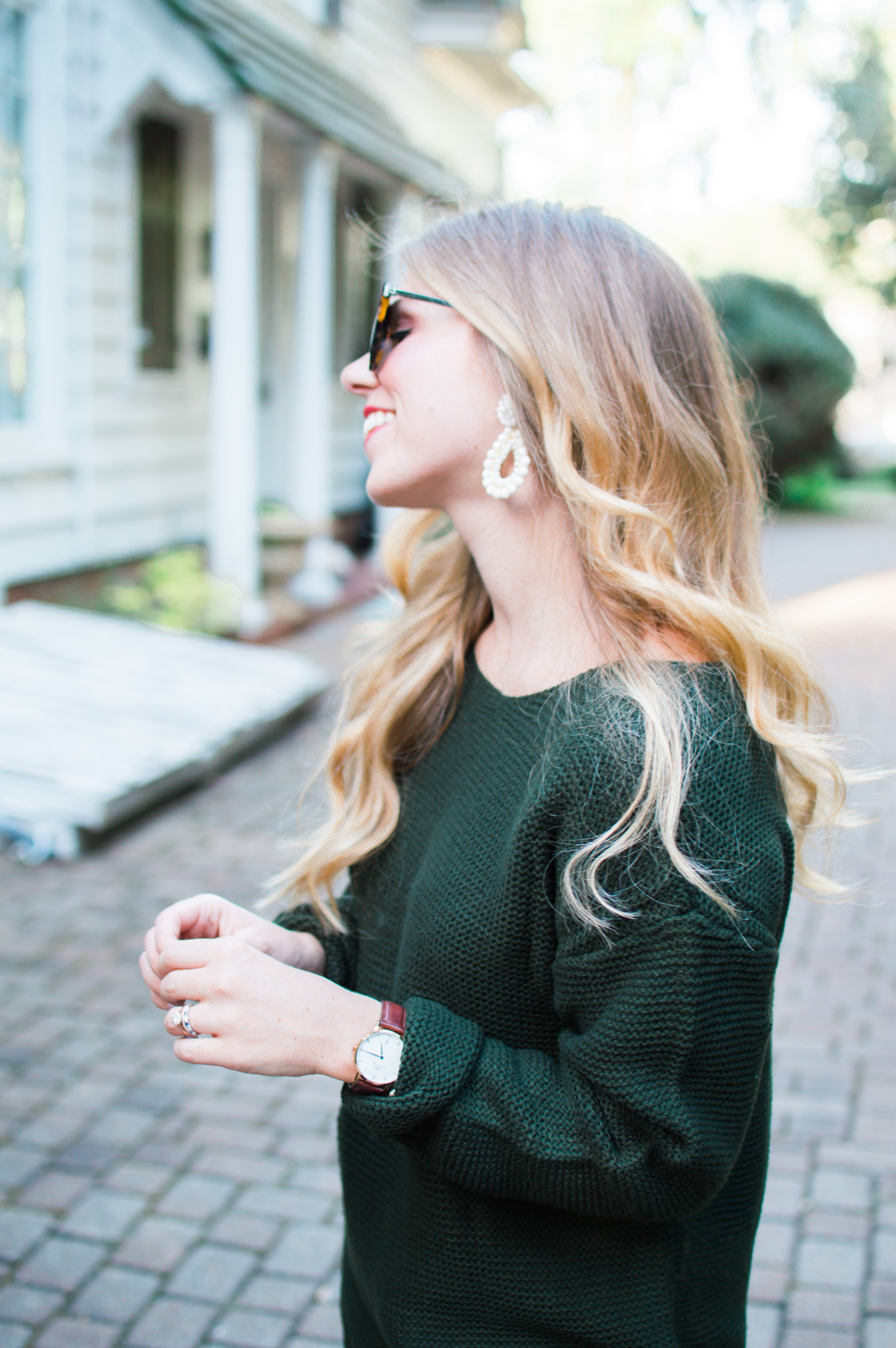 Olive Green for Fall | Monochromatic Olive Green | Louella Reese Life & Style Blog