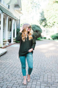 Olive Green Pants for Fall