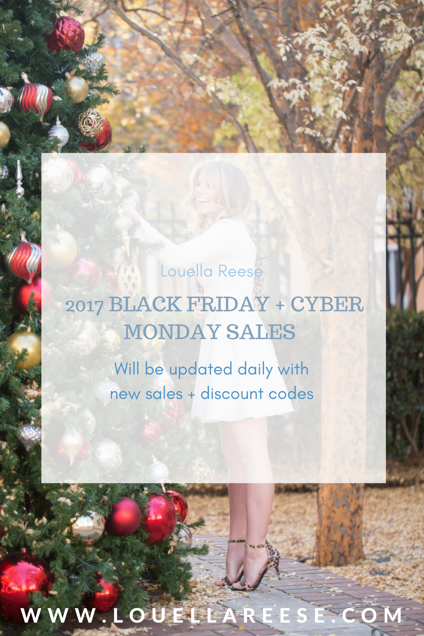 2017 Black Friday Sales | 2017 Cyber Monday Sales | Louella Reese Life & Style Blog