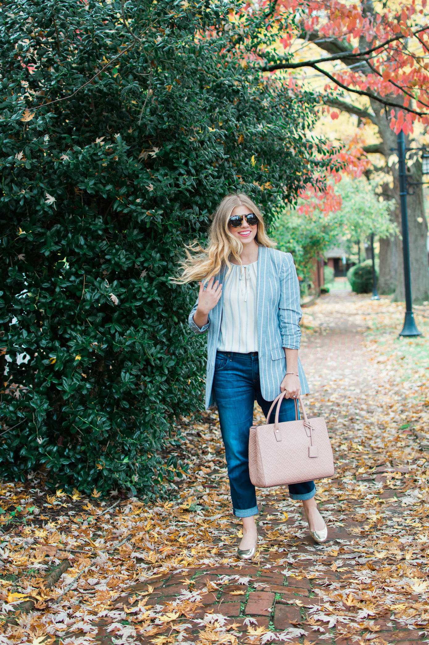 Fall Boyfriend Jeans | Two Ways to Style Boyfriend Jeans | Louella Reese Life & Style Blog