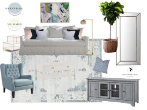Louella Reese Home: Designing the Living Room