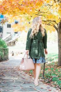 Olive Wrap Coat   Asheville, NC