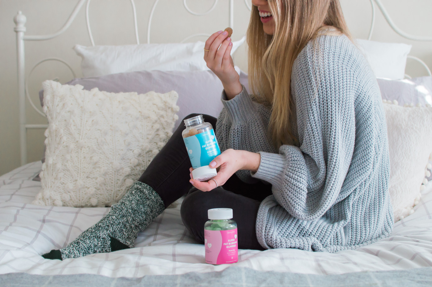 Healthier Lifestyle | SkinnyMint Super Fat Burning Gummies Review | Louella Reese Life & Style Blog