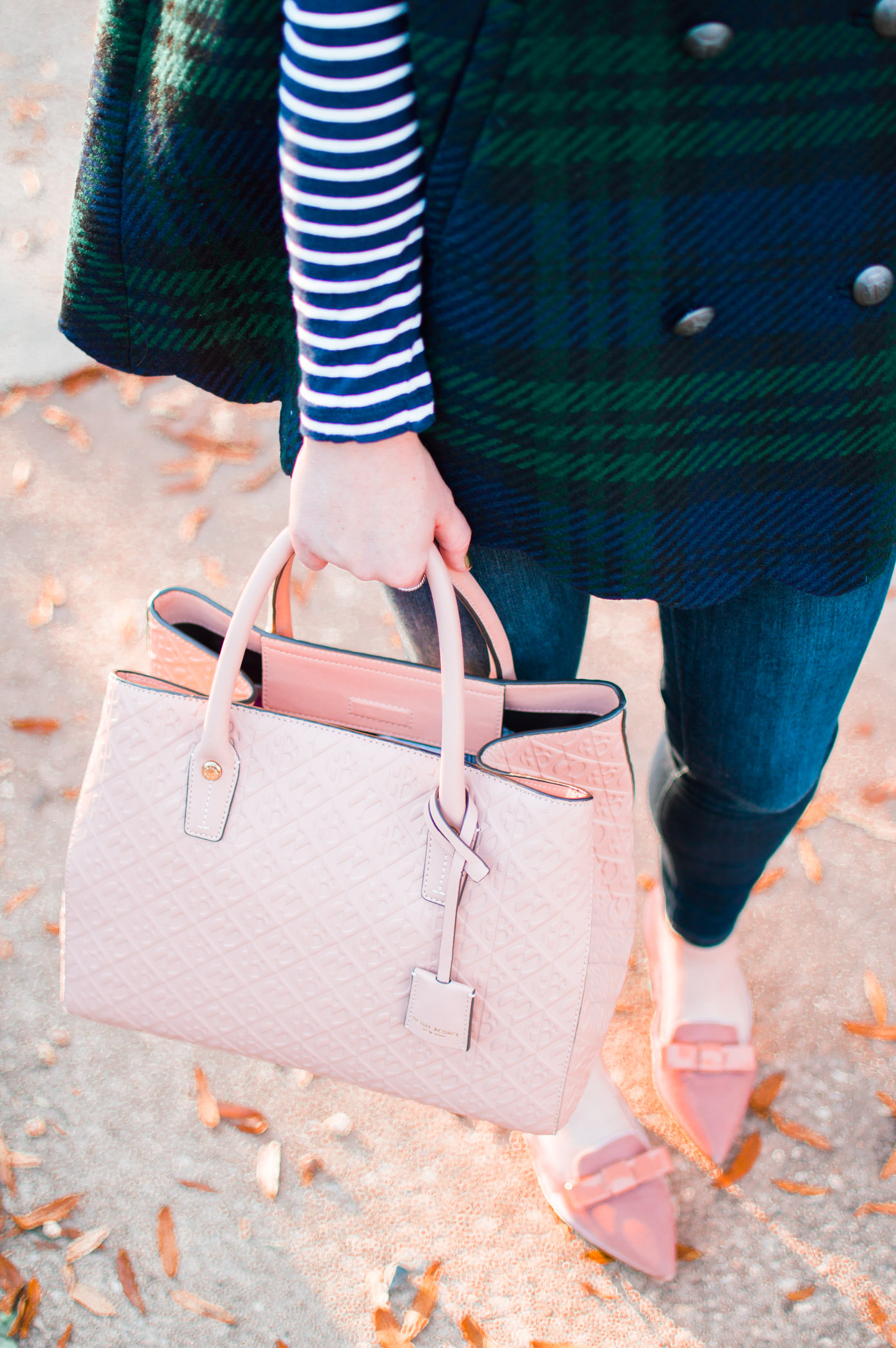 Blush Pink Tote | Winter Wardrobe Must Haves | Louella Reese Life & Style Blog