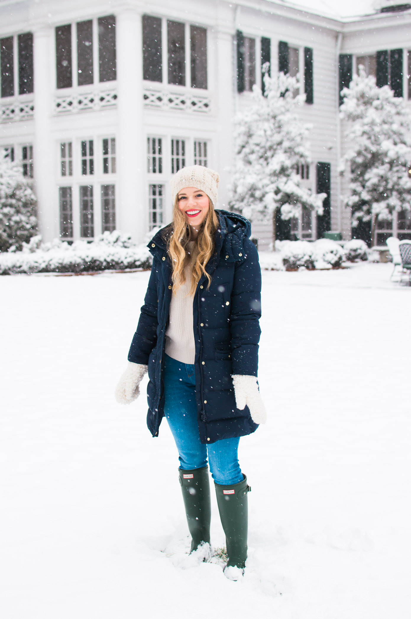 Charlotte Snow Day | Snow Day Outfit Inspo | Louella Reese Life & Style Blog