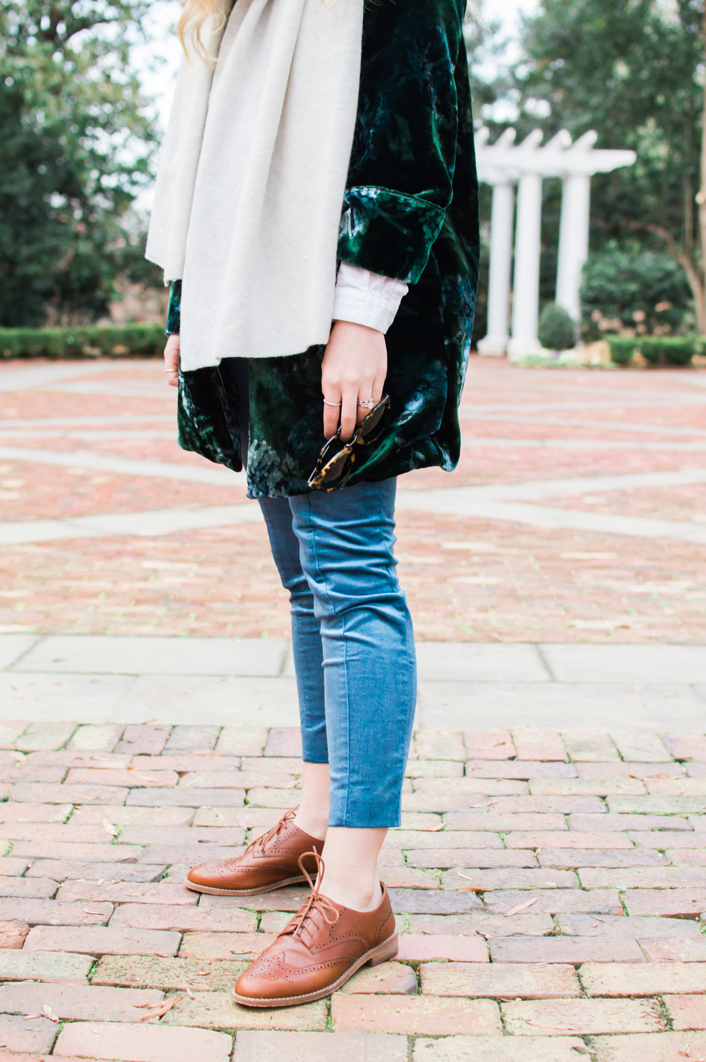 Winter Trends | Velvet Blazer | Louella Reese Life & Style Blog