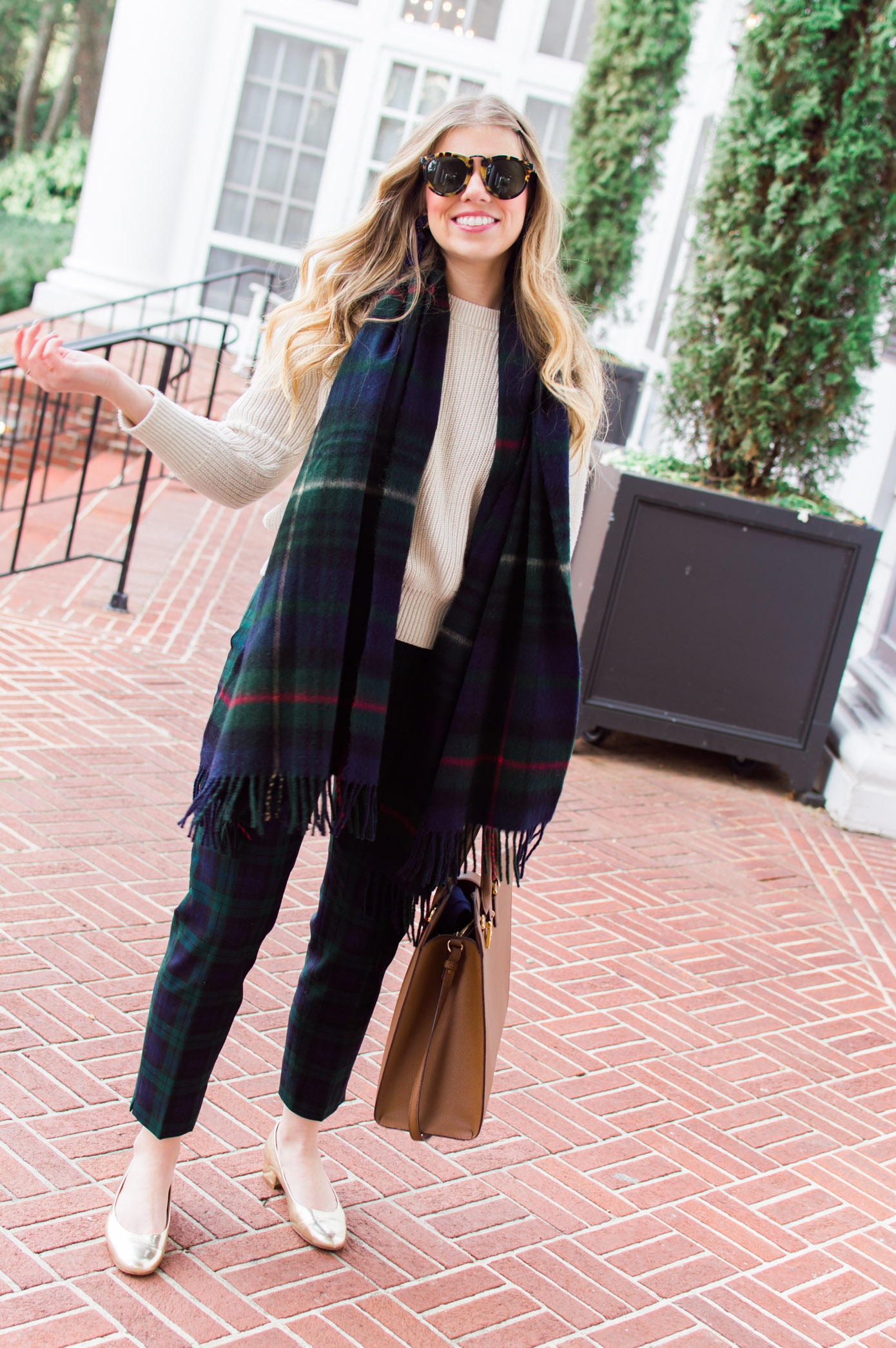 Plaid on Plaid | 10 Ways to Mix Patterns Like a Fashion Blogger | Louella Reese Life & Style Blog