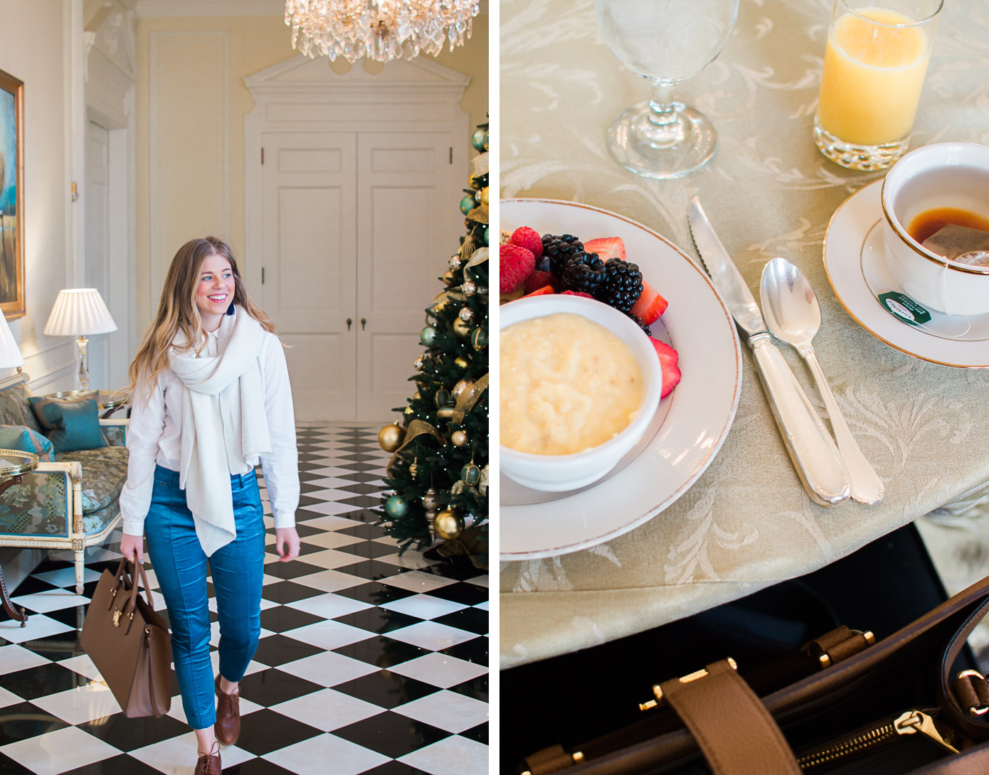 The Duke Mansion, Charlotte NC | NC Bed & Breakfast | Louella Reese Life & Style Blog