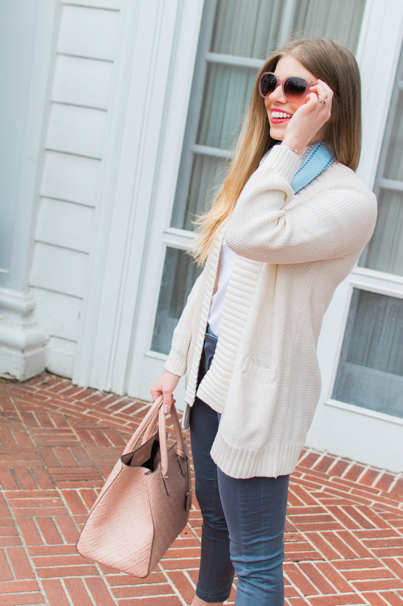 Blush Accessories | Accessories to Transition into Spring | Louella Reese Life & Style Blog