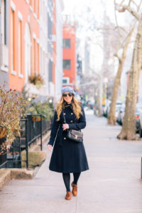 A Foolproof Winter Parisian Chic Outfit: NYFW F|W 2018