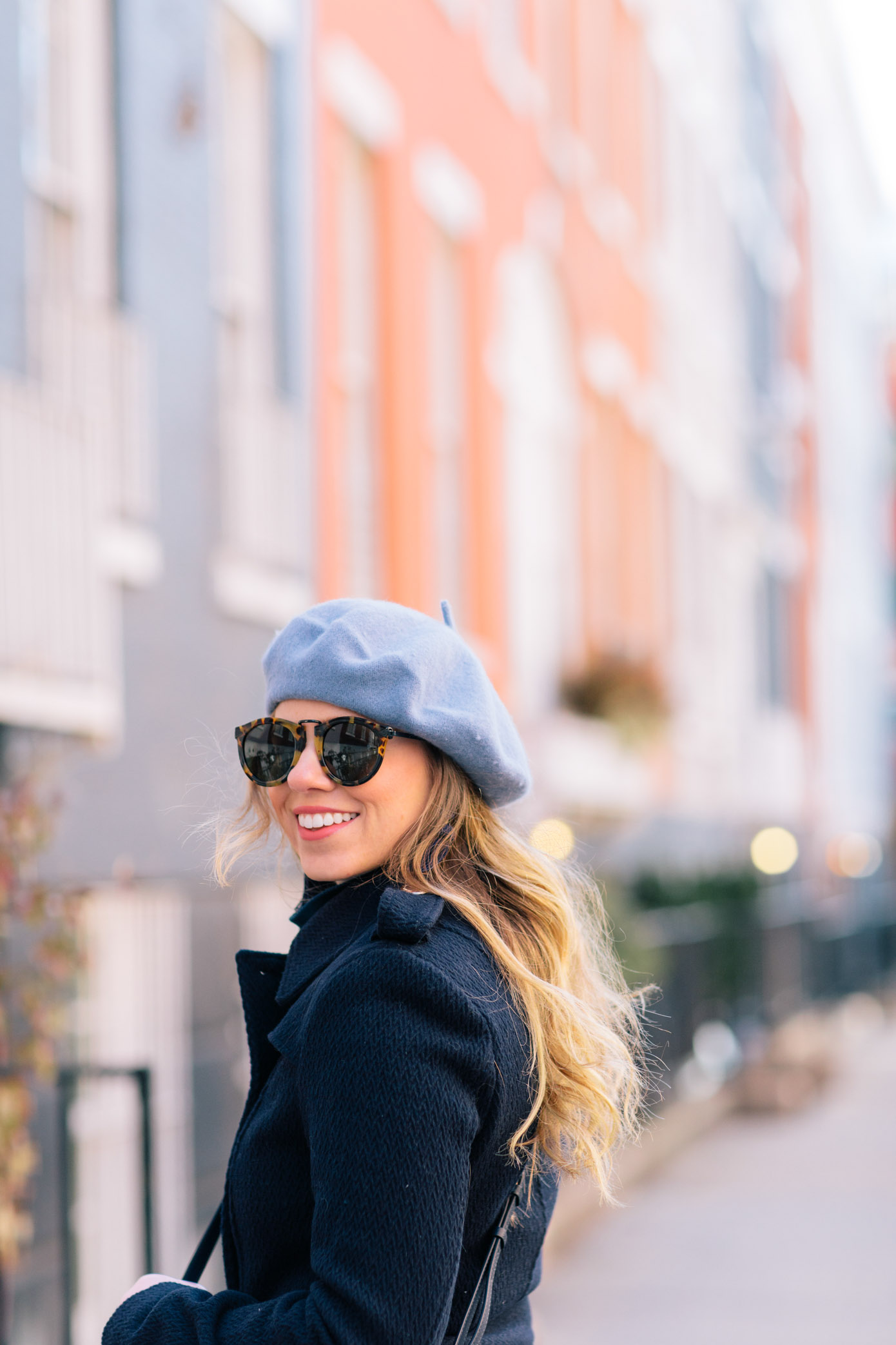 Blue Beret | How to Dress Like a Parisian this Winter | Louella Reese Life & Style Blog