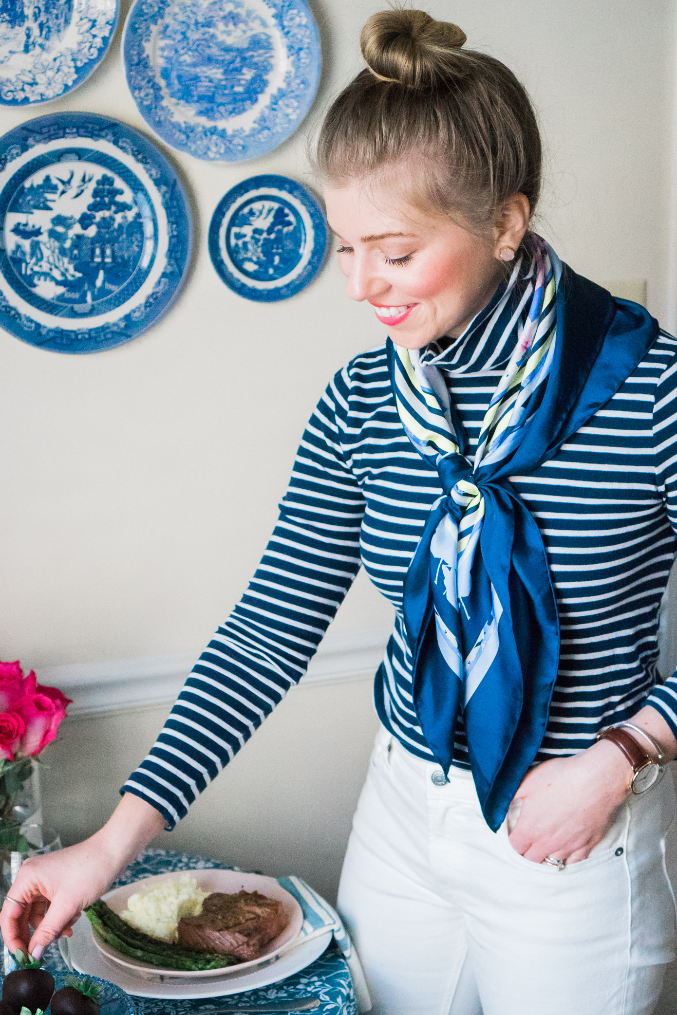 Valentine's Day Dinner at Home | Valentine's Day Dinner for Two | Louella Reese Life & Style Blog