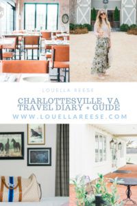 Charlottesville, VA Travel Diary & Guide