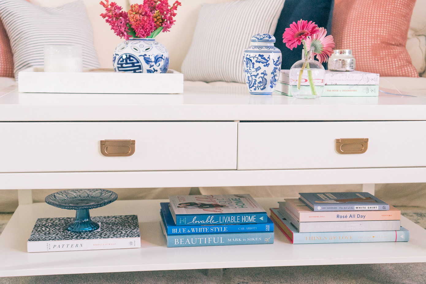 Styling Coffee Table Books | Louella Reese Life & Style Blog