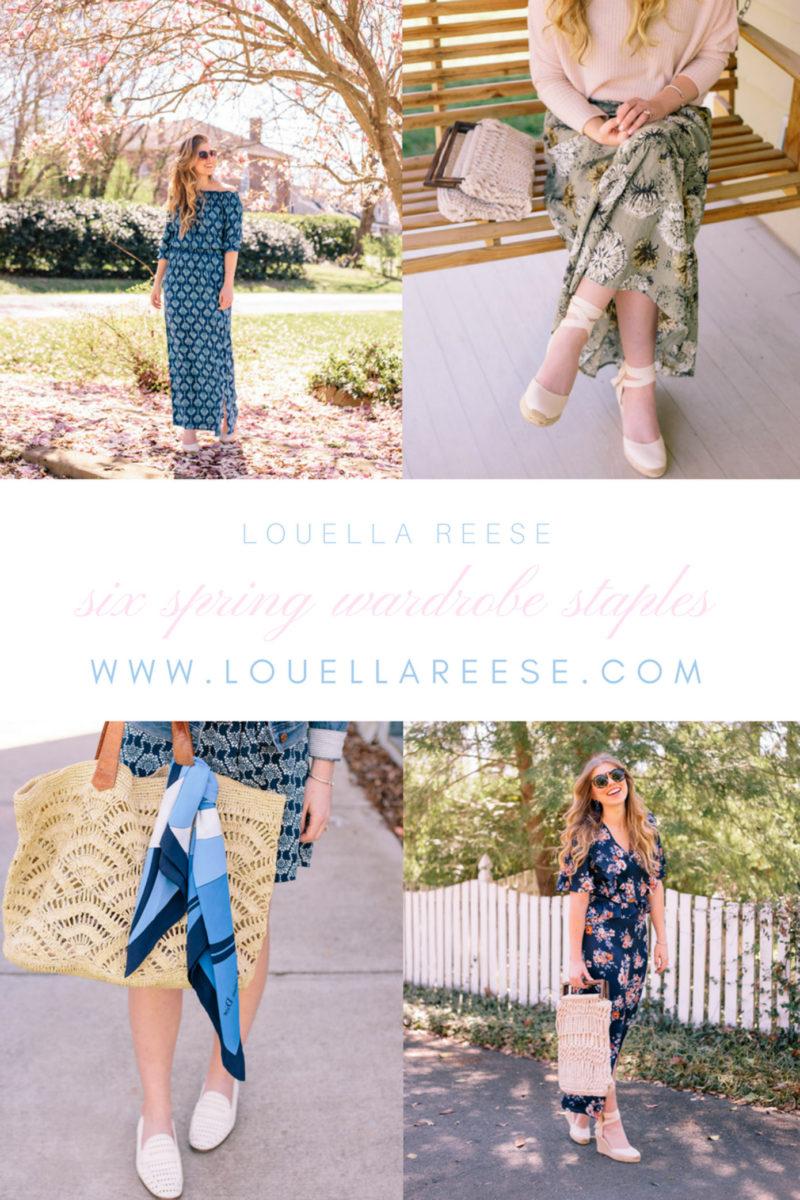 Six Spring Wardrobe Staples