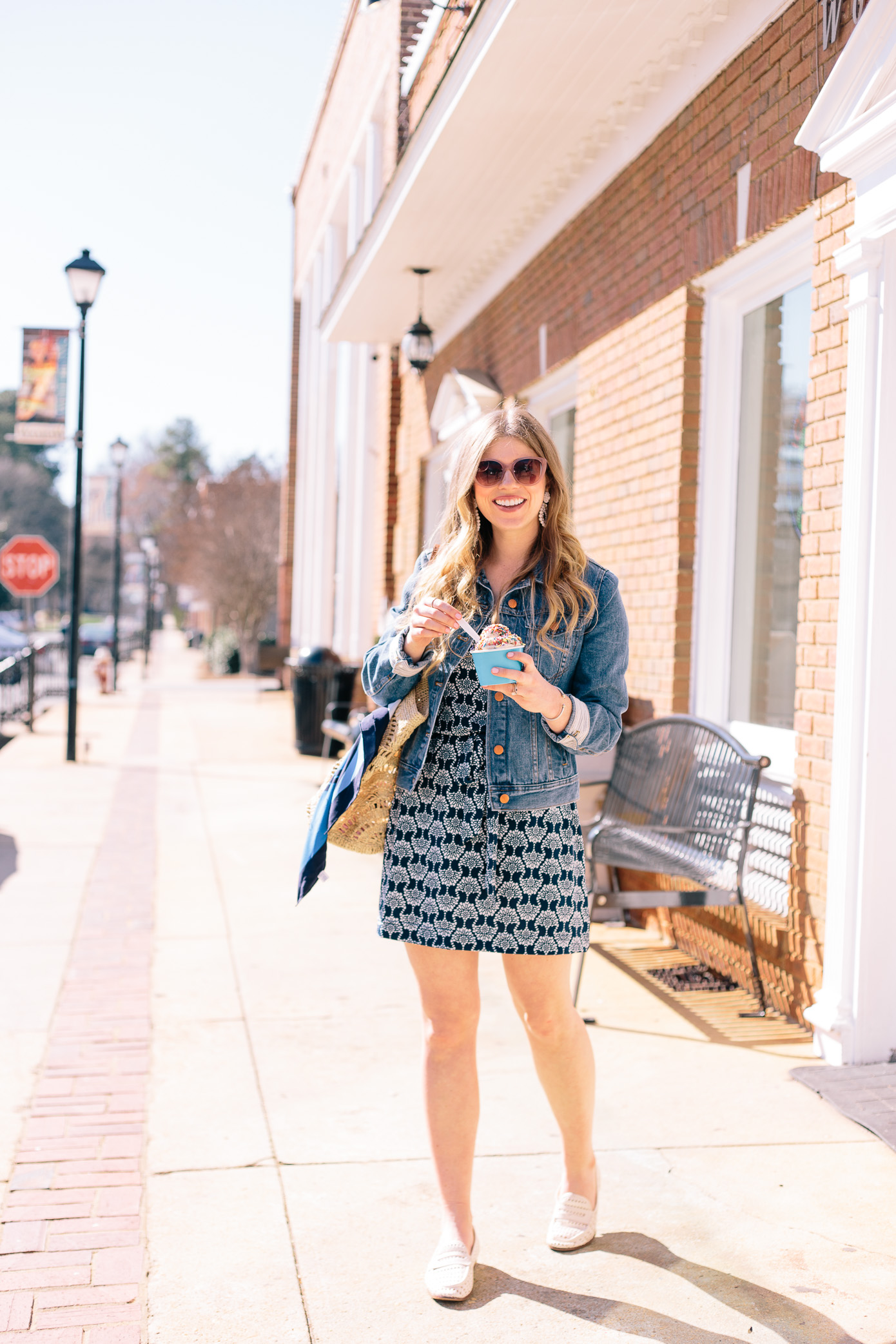 How to Style a Casual Knit Dress for Spring | Louella Reese Life & Style Blog