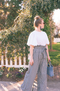 Stripe Wide Leg Pants | Having Fun with Spring Trends