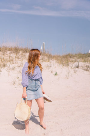 Why You Need a Denim Skirt | Carolina Beach, NC