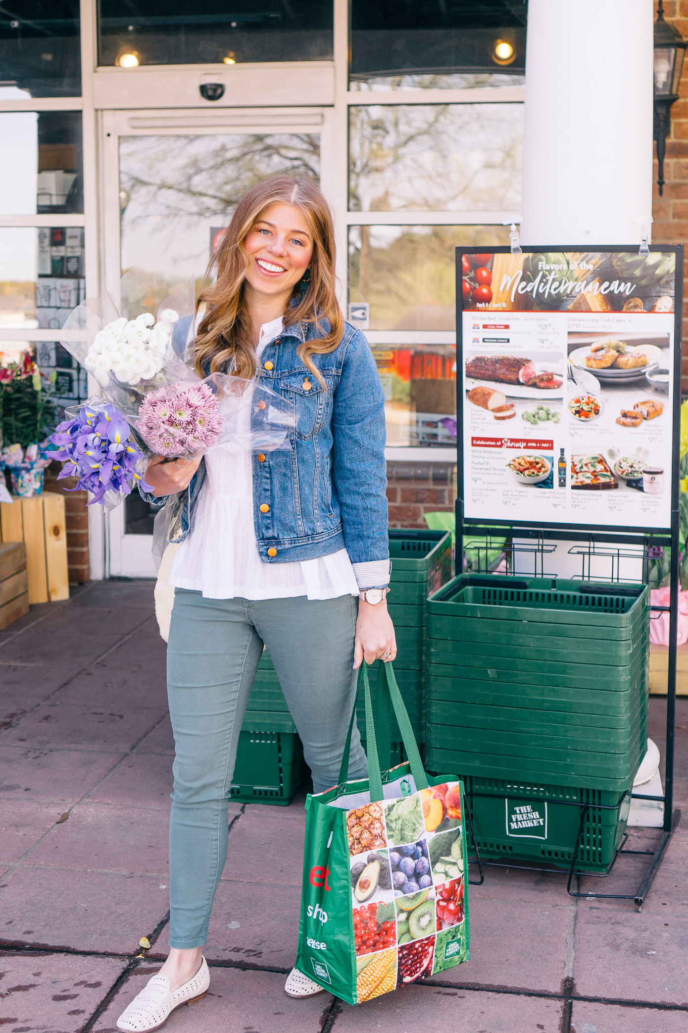 The Fresh Market Shopping Haul | Louella Reese Life & Style Blog