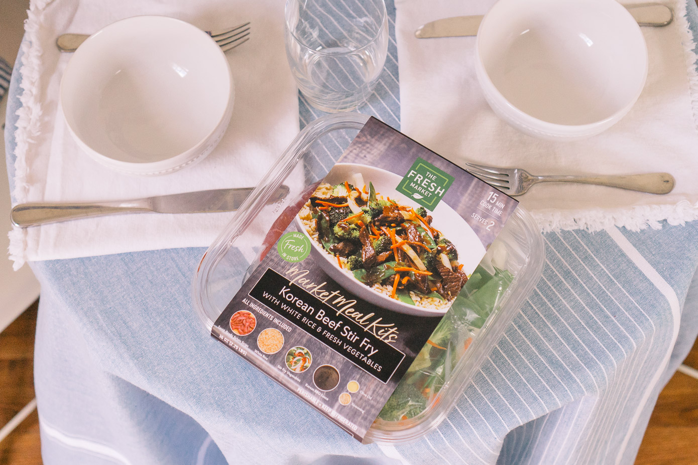 Market Meal Kits | Easy 15 Minute Dinners | Louella Reese Life & Style Blog