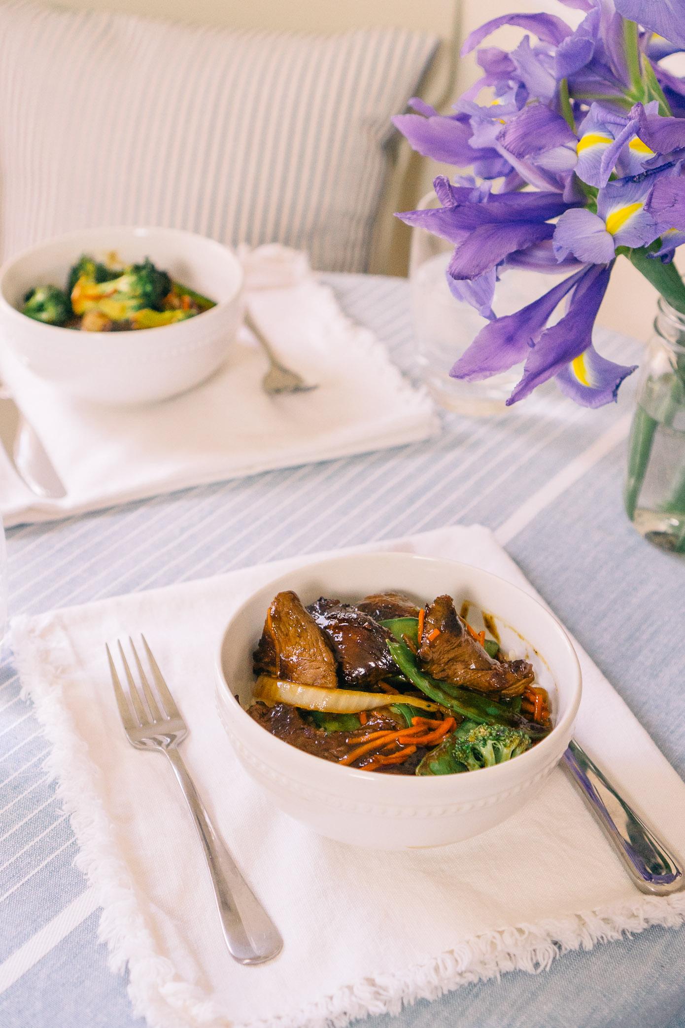 Koren Beef Stir Fry | Easy 15 Minute Dinners | Louella Reese Life & Style Blog
