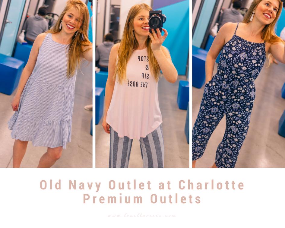 Charlotte Premium Outlets Spring Shopping + Susan G. Komen | Spring Shopping | Louella Reese Life & Style Blog