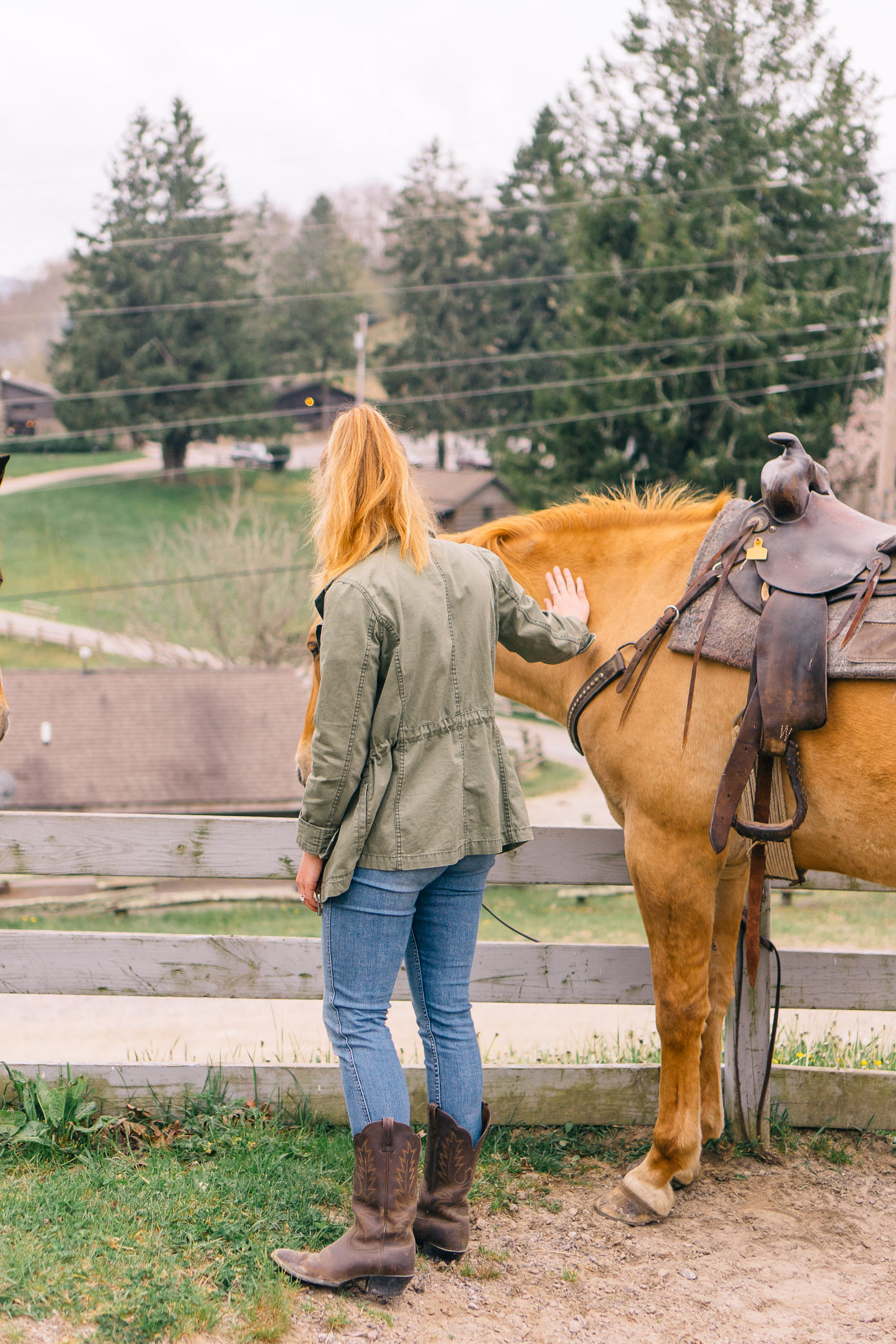 Cataloochee Ranch Review | Where to Go Horseback Riding in NC Mountains | Louella Reese Life & Style Blog