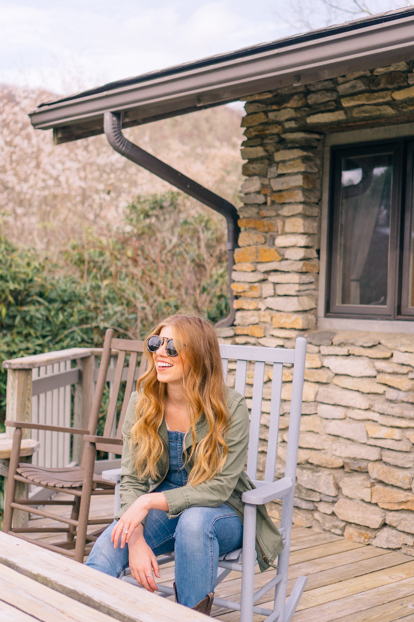 What to Wear Horseback Riding | Overalls Styled with Cowboy Boots | Louella Reese Life & Style Blog