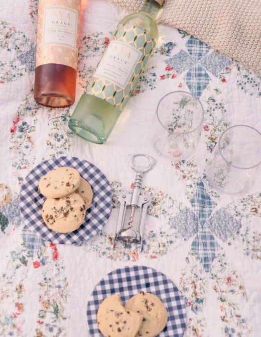 Ava Wine   Rosé Picnic on the Ranch   Louella Reese Life & Style Blog