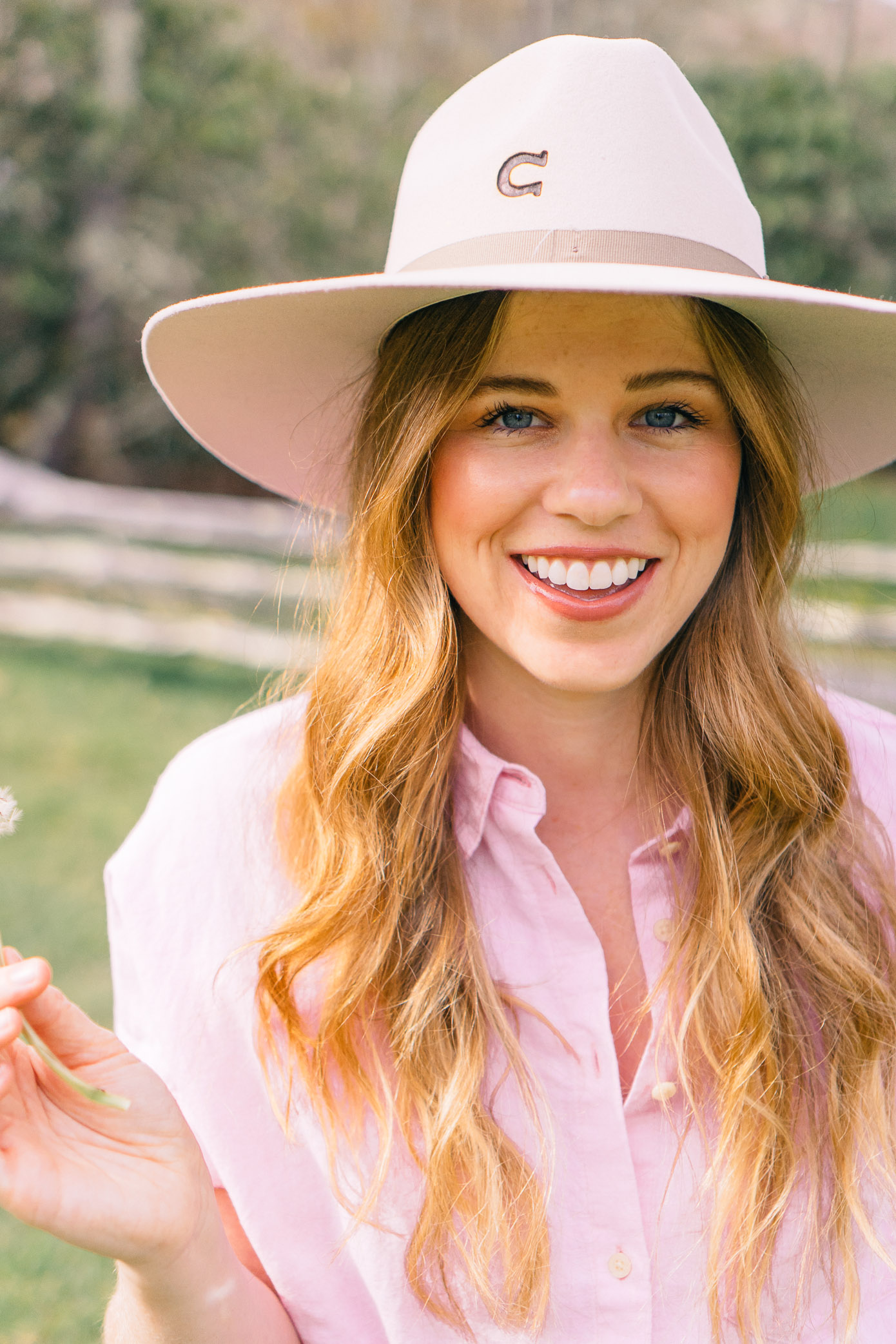 Ranch Weekend Style, Felt Cowboy Hat | Louella Reese Life & Style Blog