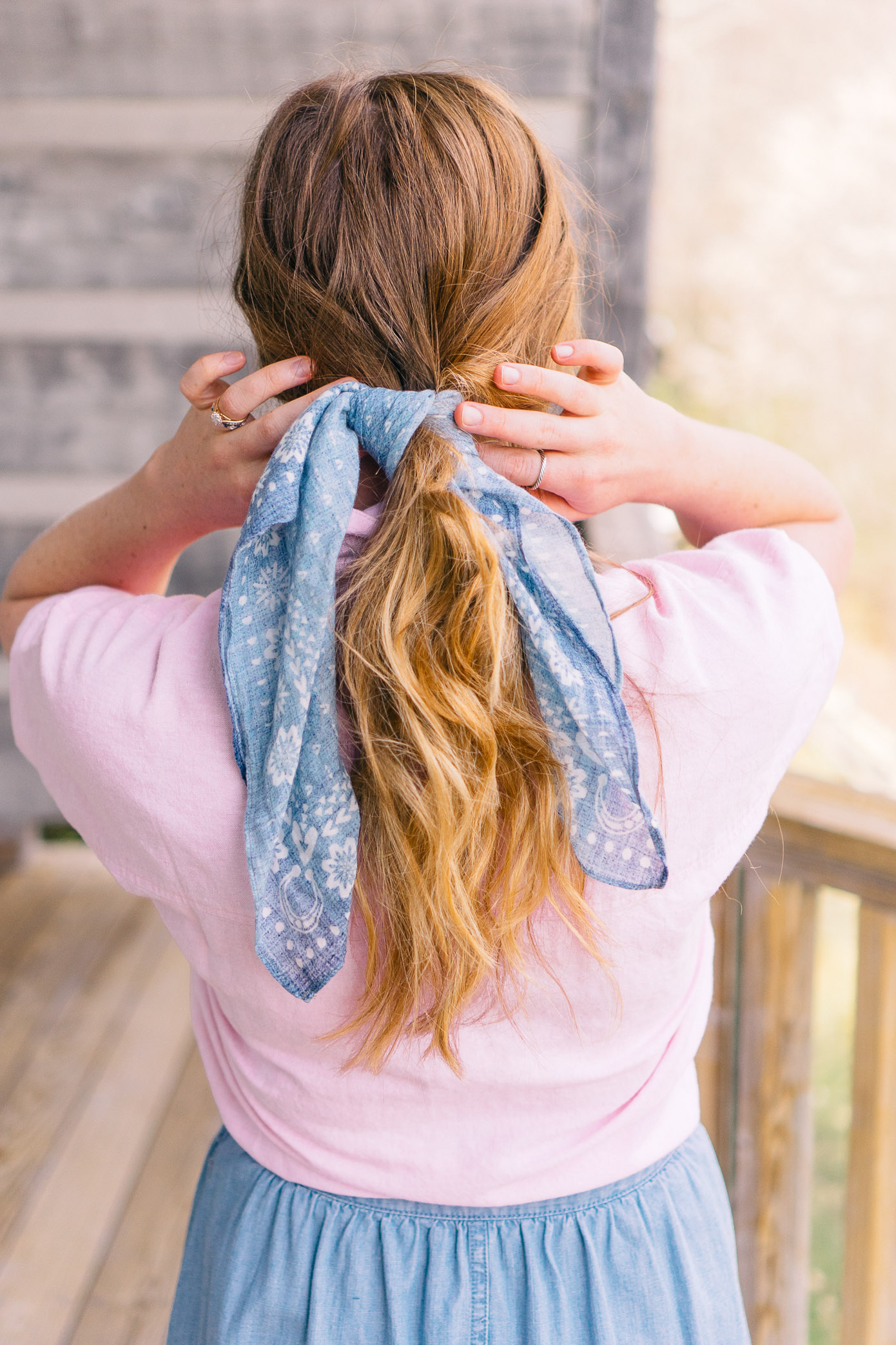 Six Ways to Style a Bandana this Summer | Louella Reese Life & Style Blog