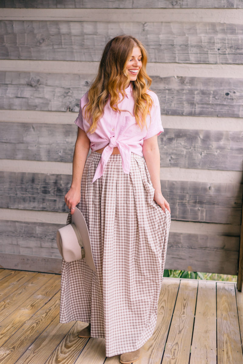 Three Skirts Styled Three Ways for Summer | Cataloochee Ranch