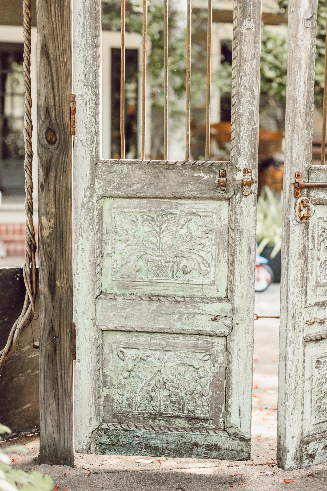 Charming English Garden Gate | Garden Decor | Louella Reese Life & Style Blog