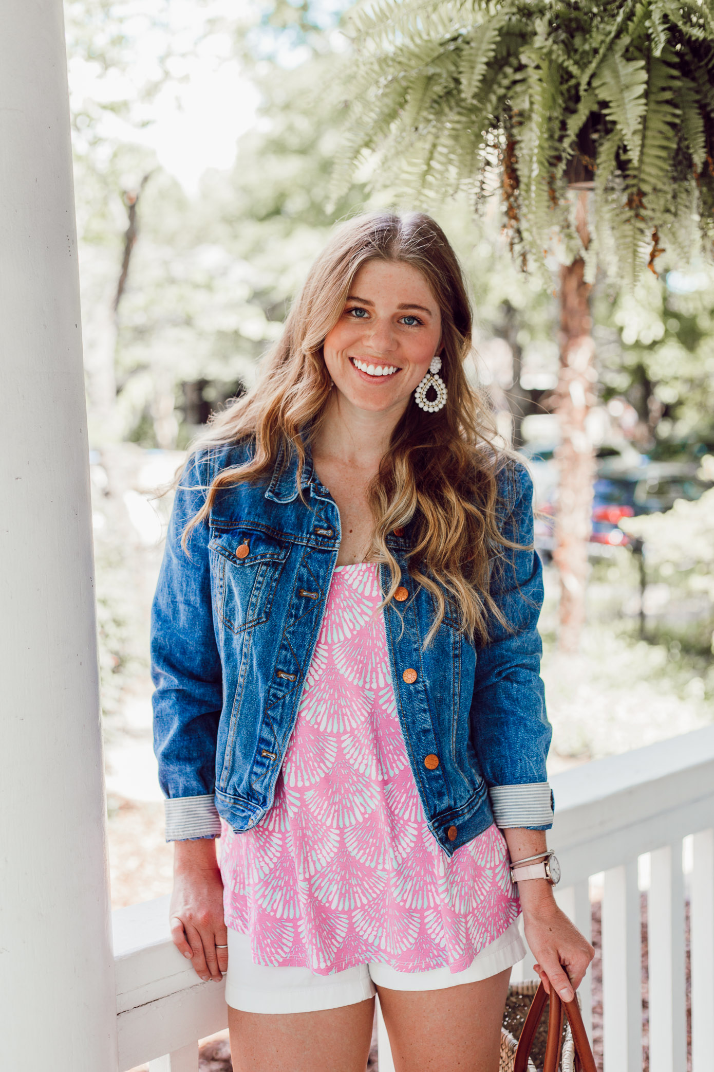 Summer 2018 Bucket List | How to Style a Denim Jacket this Summer | Louella Reese Life & Style Blog