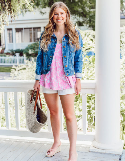 Summer 2018 Bucket List | Casual Summer Outfit Idea, White Shorts for Summer | Louella Reese Life & Style Blog