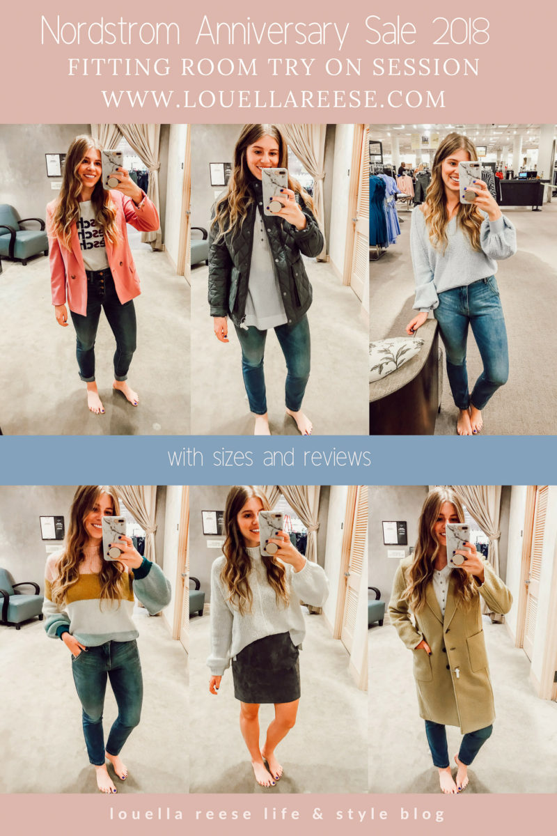 2018 Nordstrom Anniversary Sale Fitting Room Session