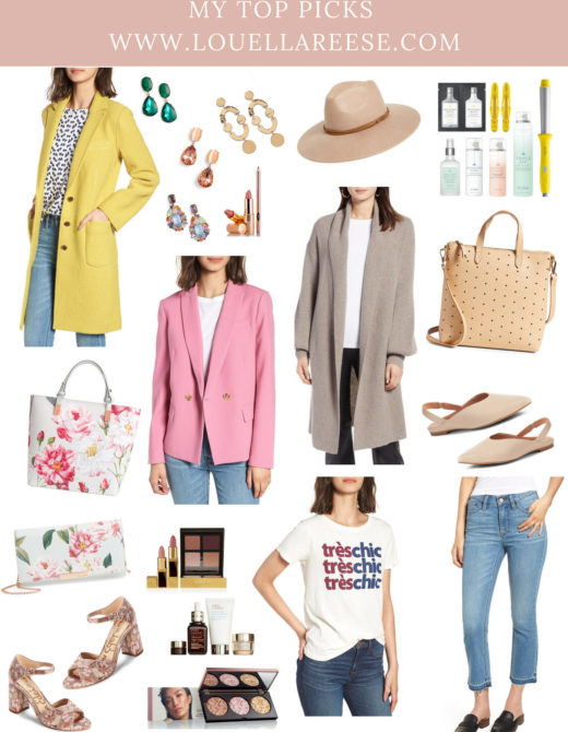 2018 Nordstrom Anniversary Sale Top Picks featured on Louella Reese Life & Style Blog