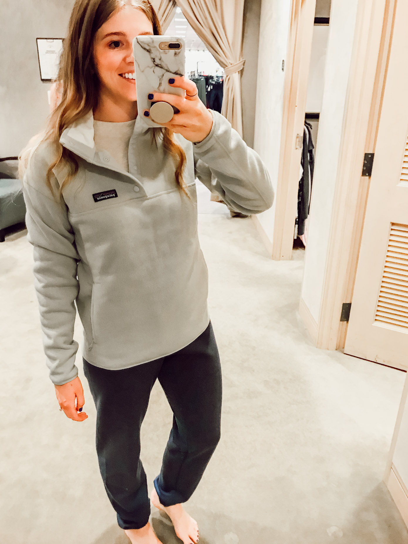 Patagonia Better Sweater Fleece | 2018 Nordstrom Anniversary Fitting Room Session featured on Louella Reese Life & Style Blog