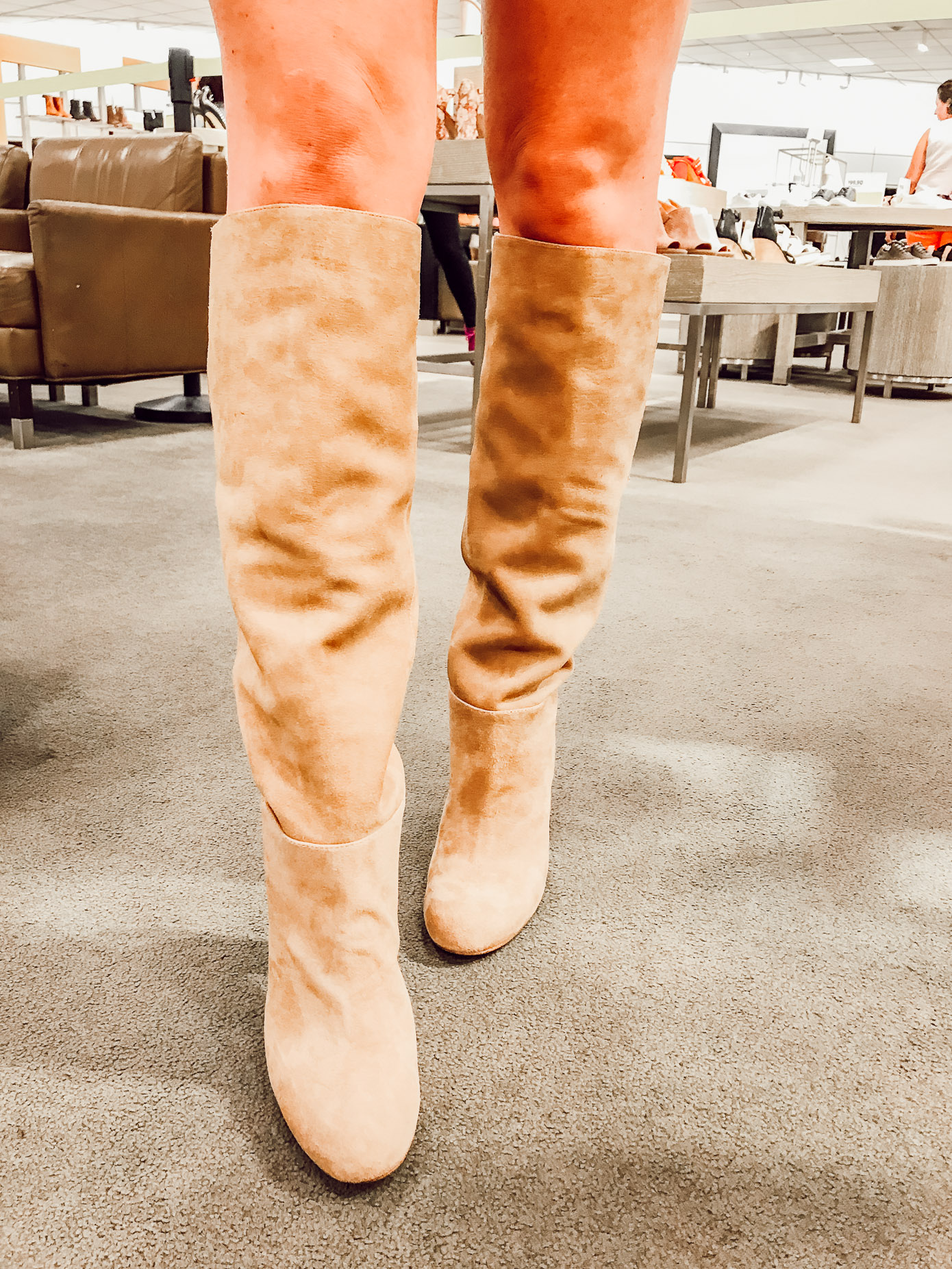 Sam Edelman Caprice Knee-High Boot | 2018 Nordstrom Anniversary Fitting Room Session featured on Louella Reese Life & Style Blog