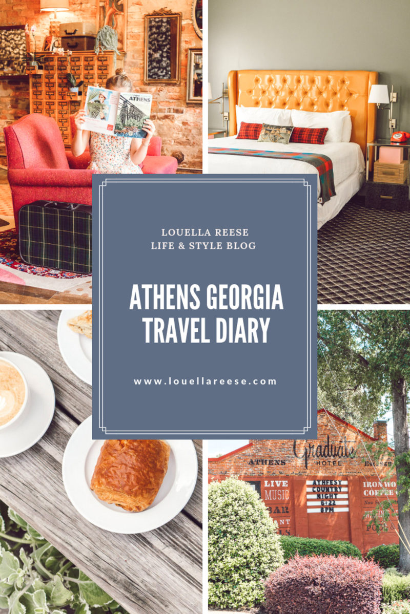 Athens GA Travel Diary