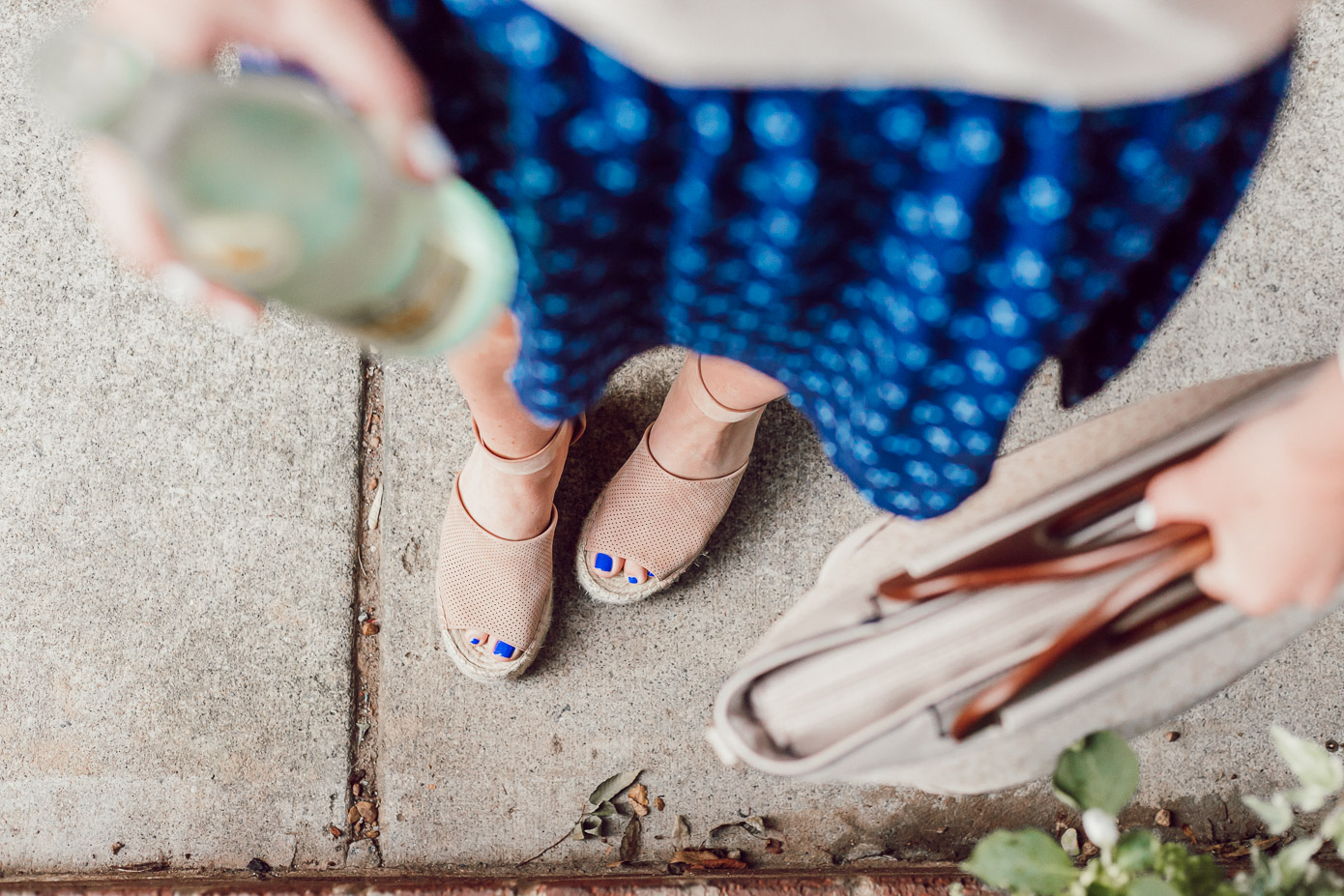 Marc Fisher Espadrille Wedges, Summer Style featured on Louella Reese