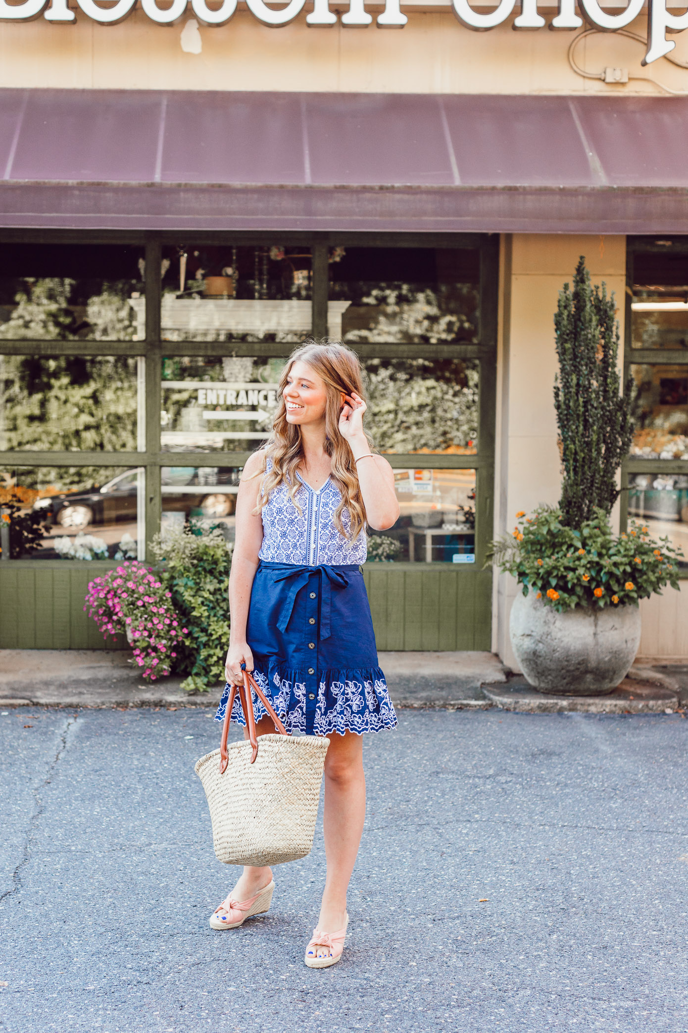 Summer Blues, My Favorite Blue and White Pieces