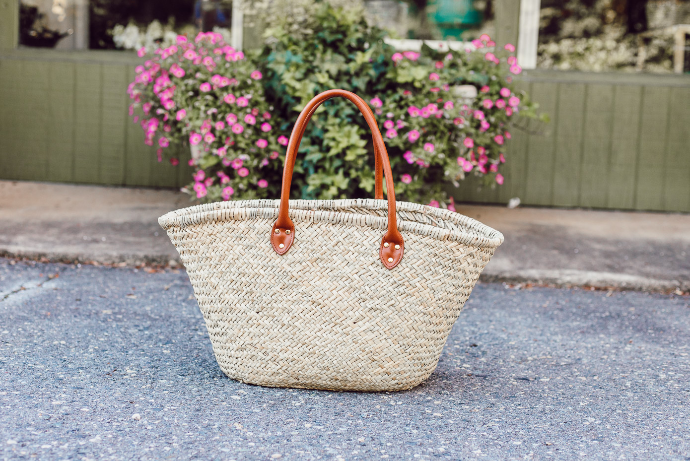 Natural Straw Tote under $50 featured on Louella Reese Life & Style Blog