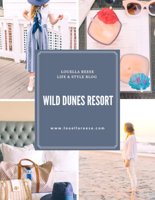 Wild Dunes Travel Diary featured on Louella Reese Life & Style Blog