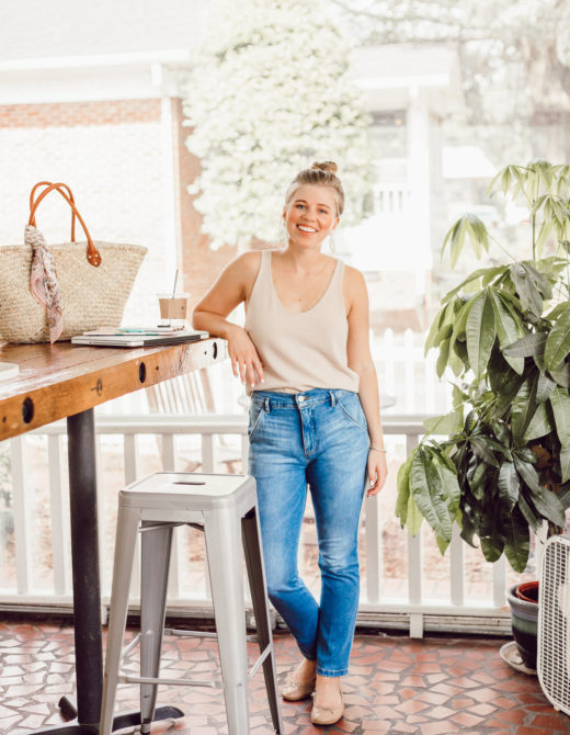 Laura Leigh of Louella Reese shares her favorite summer purchases of summer 2018 including the perfect Sweater Tank from Leith