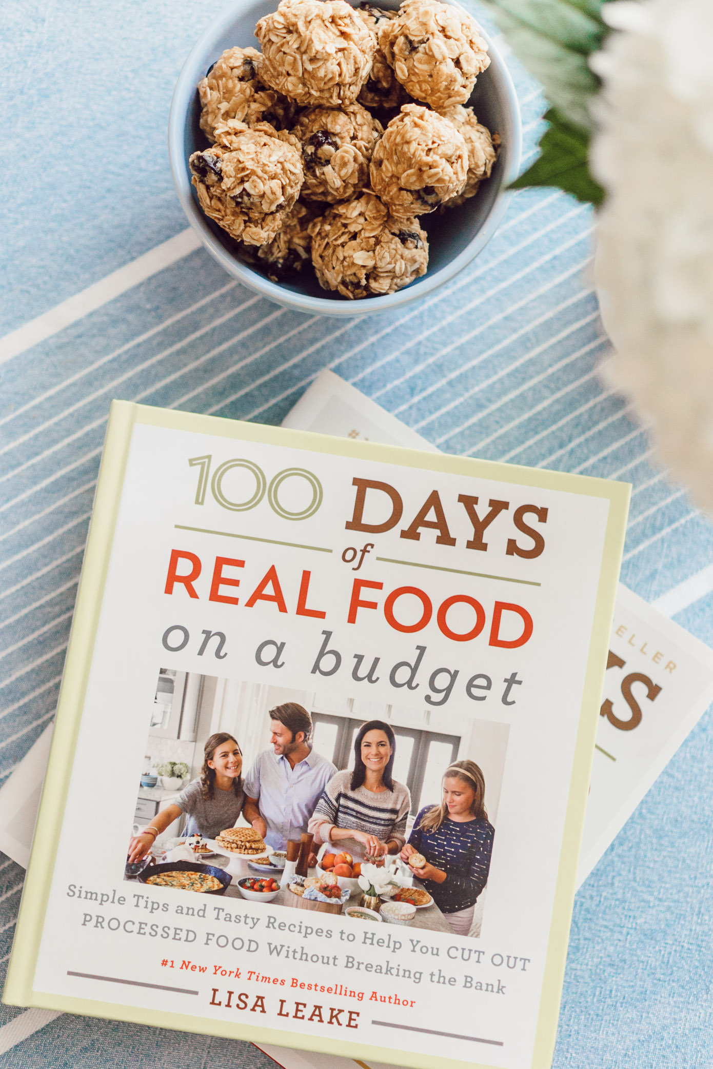 Oatmeal Raisin Energy Bites, A Healthy Cookbook You Need In Your Kitchen featured on Louella Reese