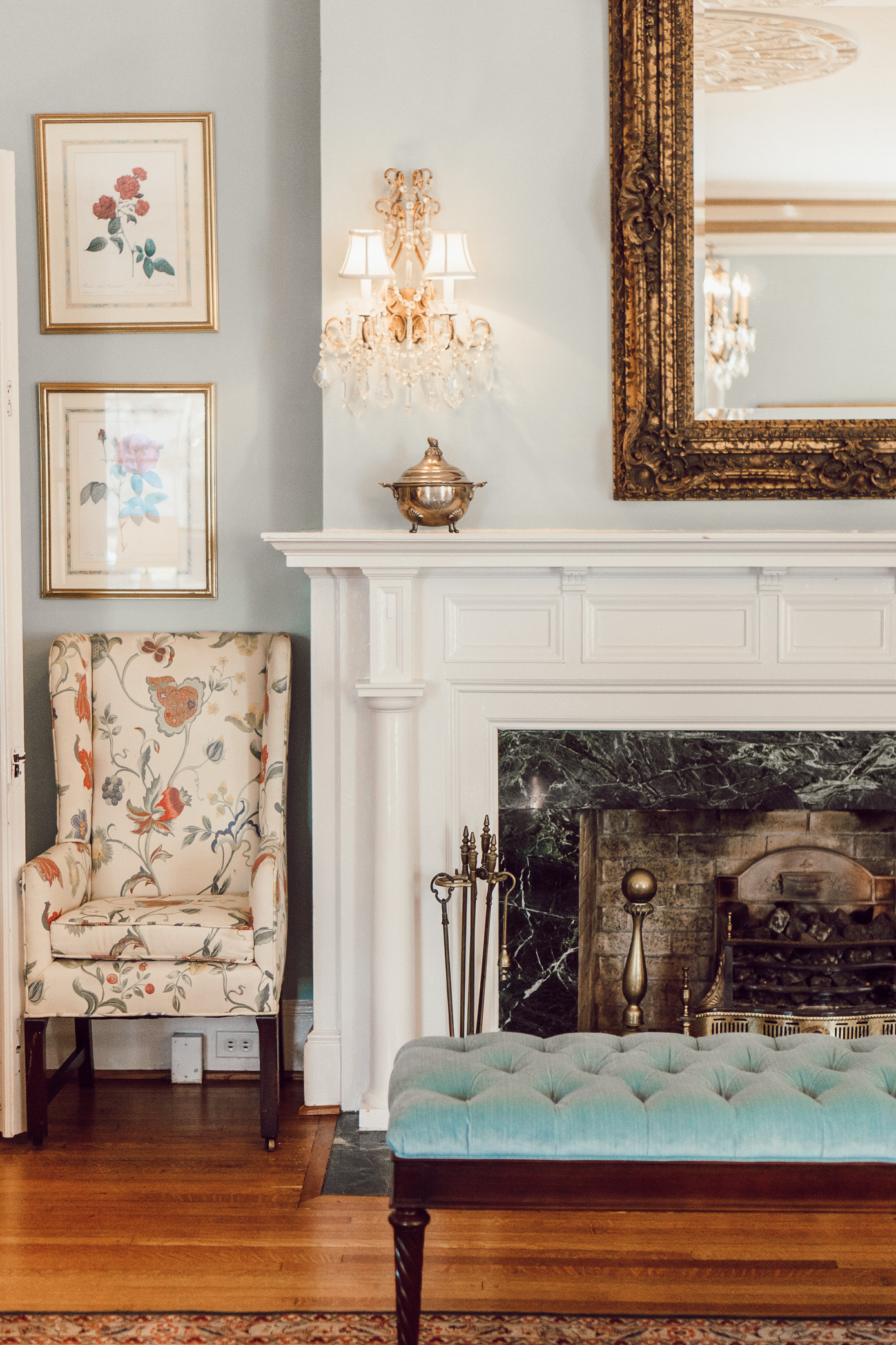 North Carolina Historic Bed & Breakfast | The Morehead Inn Charlotte NC Bed & Breakfast featured on Louella Reese
