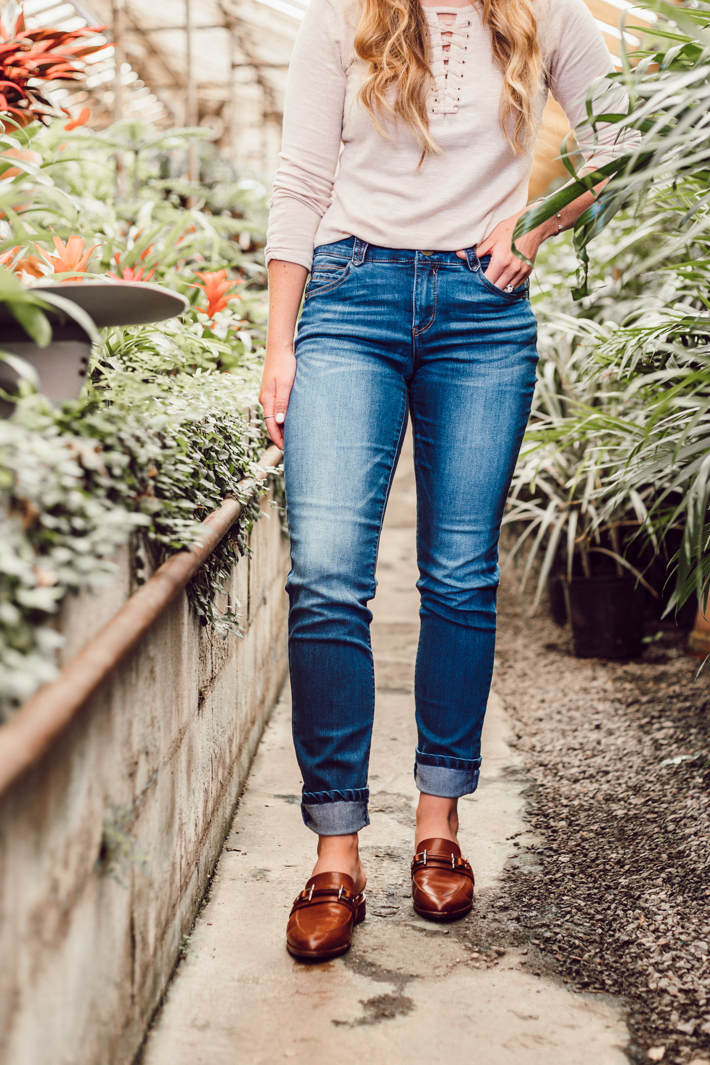 The Best Fitting Budget Friendly Jeans featured on Louella Reese Blog