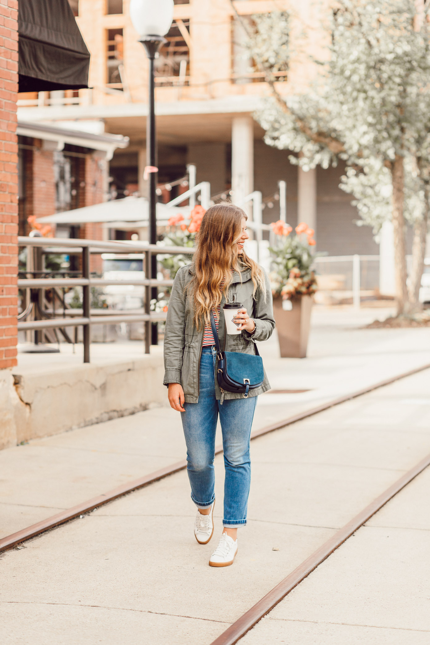 Most Instagrammable Charlotte Coffee Shops featured on Louella Reese | Casual Fall Style