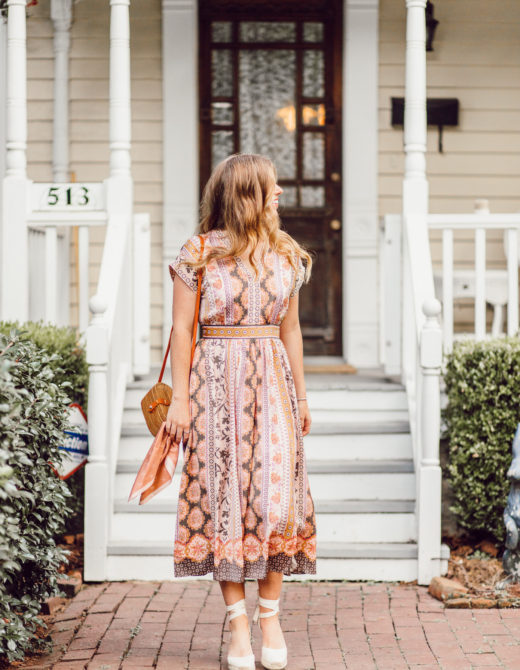 Fall Midi Dresses | The Perfect Midi Dress for Fall on Louella Reese